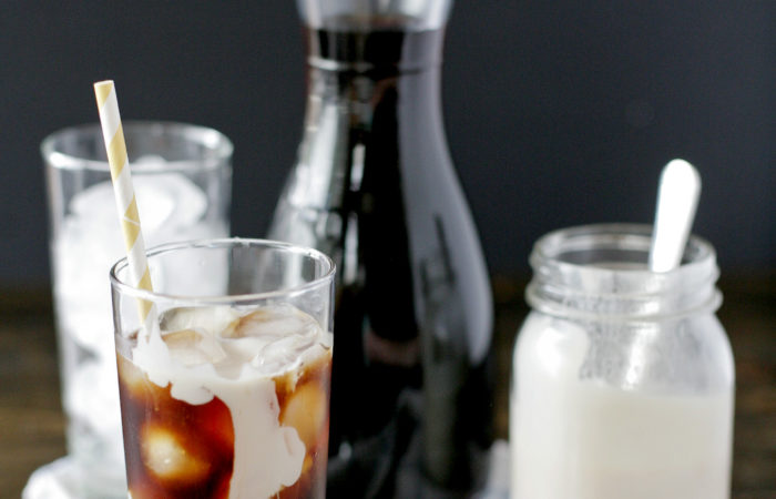 Cold Brewed Hawaiian Hazelnut & Coconut Milk Iced Coffee