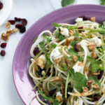 Cabbage, Kohlrabi, and Apple Salad with a Pear Balsamic Dressing