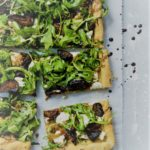 Fig, Prosciutto, Goat Cheese and Harvest Fig Balsamic Vinegar Pizza